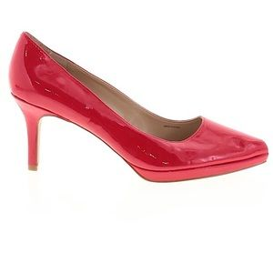 Ellen Tracy Red Patent Leather Pumps